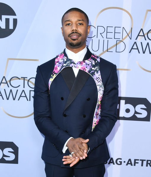 What Is It? The Scoop on Michael B. Jordan's Buzzworthy SAG Accessory