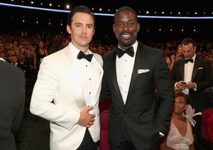Watch! Milo Ventimiglia Crash Sterling K. Brown's 'Extra' Interview