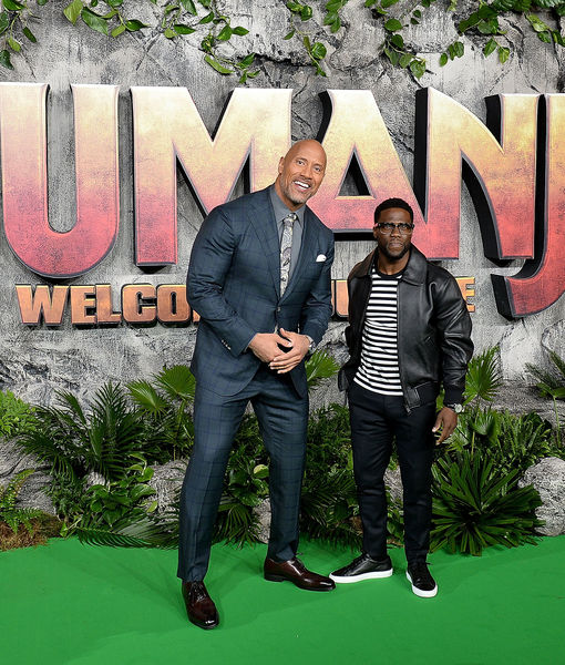 Dwayne Johnson Jokes About Why Kevin Hart Won't Qualify for 'Titan Games'