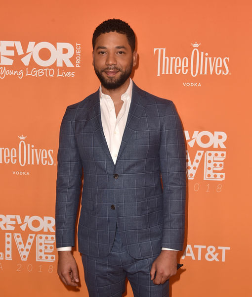 Jussie Smollett Hospitalized After Apparent Hate Crime