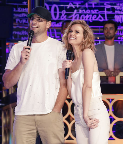Sneak Peak of Andy Roddick & Brooklyn Decker Going Mic-to-Mic on 'Lip…