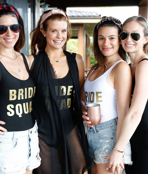 Pics! Lea Michele's Bachelorette Party in Paradise with Famous Bride Squad