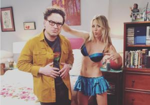 Kaley Cuoco Teases New Episode of 'Big Bang' with Lingerie Pic