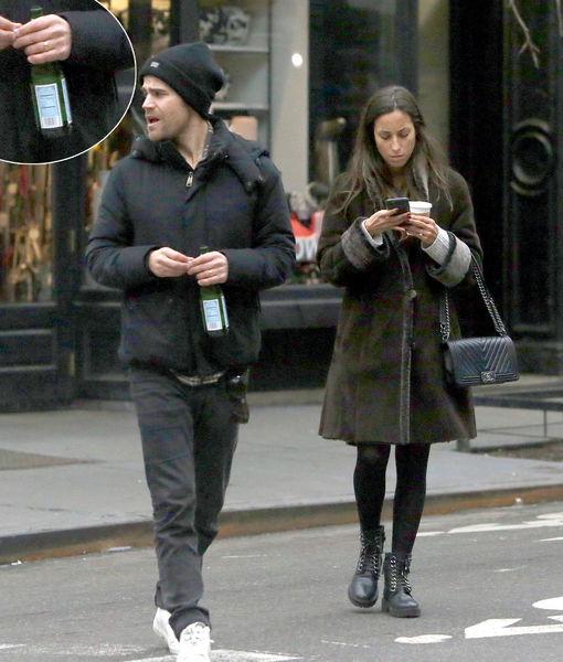Secretly Married? Paul Wesley & His GF Wear Matching Rings