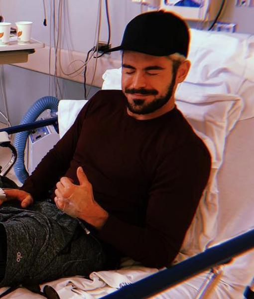 Zac Efron Undergoes Surgery