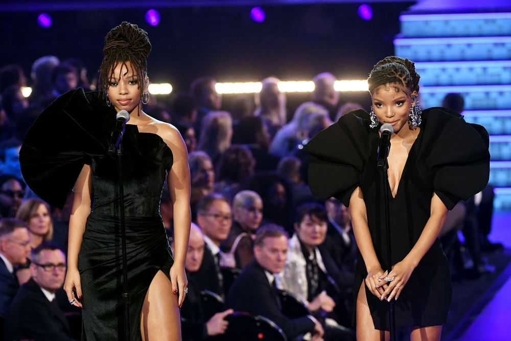 Chloe x Halle perform onstage during the 61st Annual GRAMMY Awards