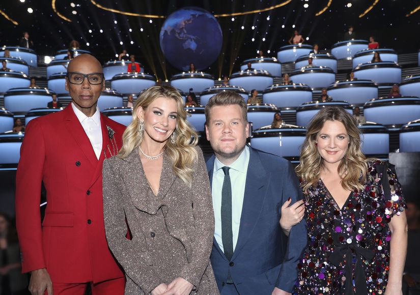James Corden & Drew Barrymore Give Legit Reasons for Watching 'World's…