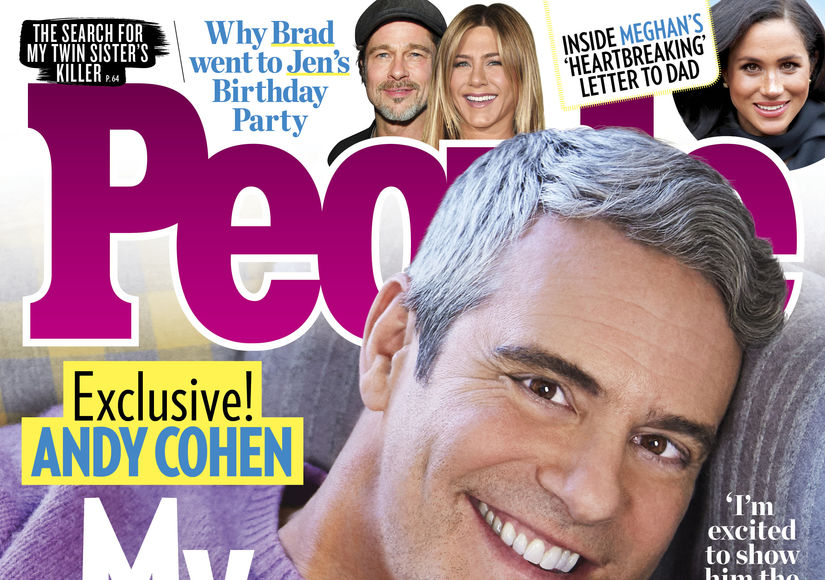 First Pic! Meet Andy Cohen's Baby Boy, Benjamin
