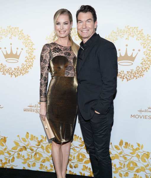 Jerry O'Connell Calls Wife Rebecca Romijn's 'Star Trek' Look 'Arousing'