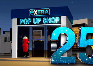 'Extra's' Pop-Up Shop: Robe-and-Slippers Sets, Leggings, and Charging Wallets