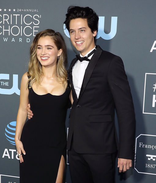 Video! Cole Sprouse & Haley Lu Richardson Surprise Audiences at 'Five…