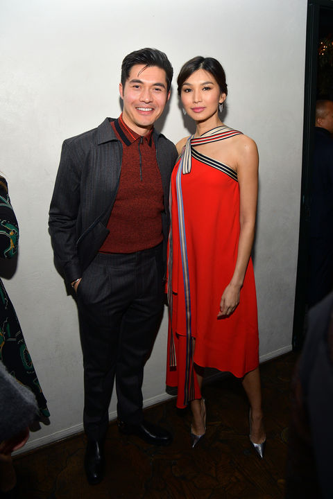 "ccc0d49a057c ""Crazy Rich Asians"" stars Henry Golding and Gemma Chan caught up as Vanity  Fair and L Oréal Paris celebrated"