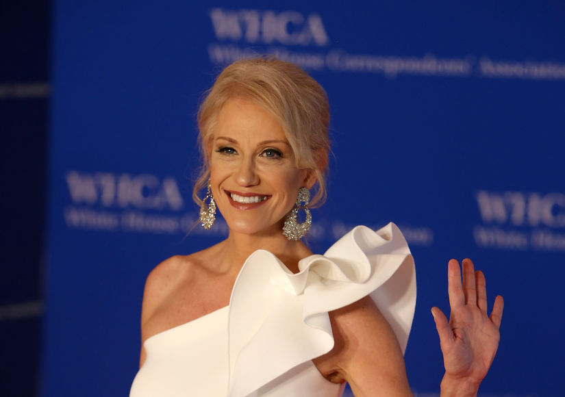 Kellyanne Conway Reacts to Kate McKinnon's 'SNL' Impression, Plus: Being…