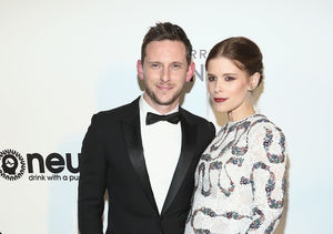 Kate Mara Debuts Baby Bump at Oscars Party