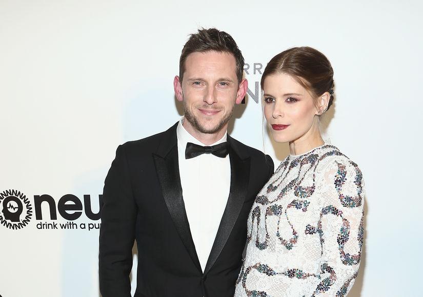 Kate Mara Debuts Baby Bump at Oscars Party