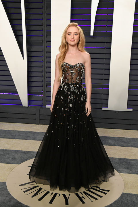Kathryn Newton attends the 2019 Vanity Fair Oscar Party