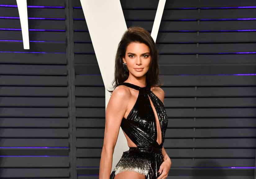 Kendall Jenner Left Nothing to the Imagination at Vanity Fair Oscars Party 2019