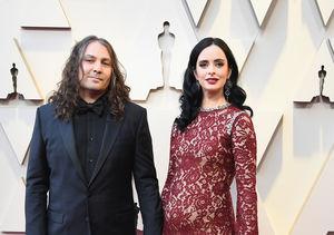 Krysten Ritter Debuts Baby Bump at Oscars 2019