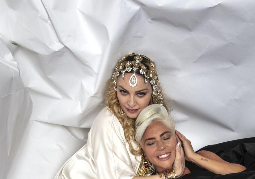 What Feud? Madonna & Lady Gaga Bury the Hatchet at Oscars Party
