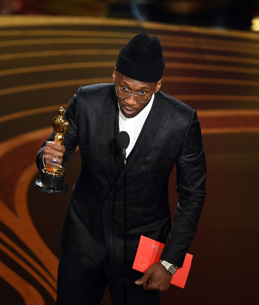 Mahershala Ali Grabs Major Attention for His Hat at the Oscars 2019
