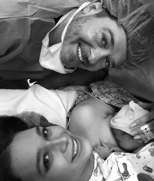 Baby Pics! Robin Thicke & April Love Geary Welcome Baby #2