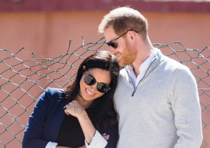 Did a Source Just Reveal the Gender of Meghan Markle & Prince Harry's…