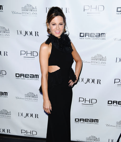Kate Beckinsale Talks Dujour Spread, and How She's Doing After Recent Medical Emergency