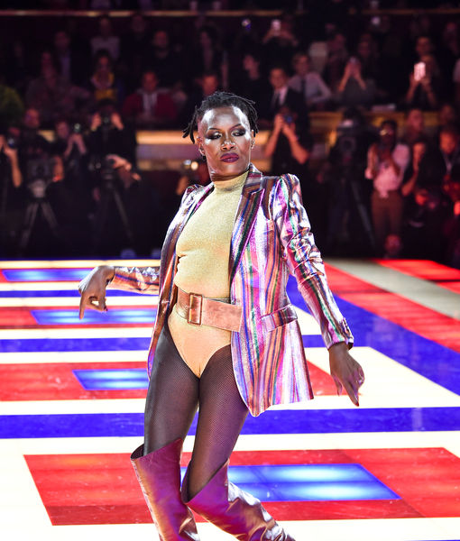 Werk! '80s Icon Grace Jones Slays at Paris Fashion Week