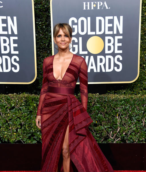 Did Halle Berry Just Get a Huge Back Tattoo? See the Pic!