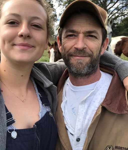 Luke Perry's Daughter Sophie Hits Back at Internet Trolls