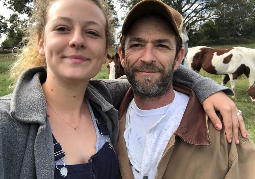 Luke Perry's Daughter Confirms His Unusual Burial Request Was Granted