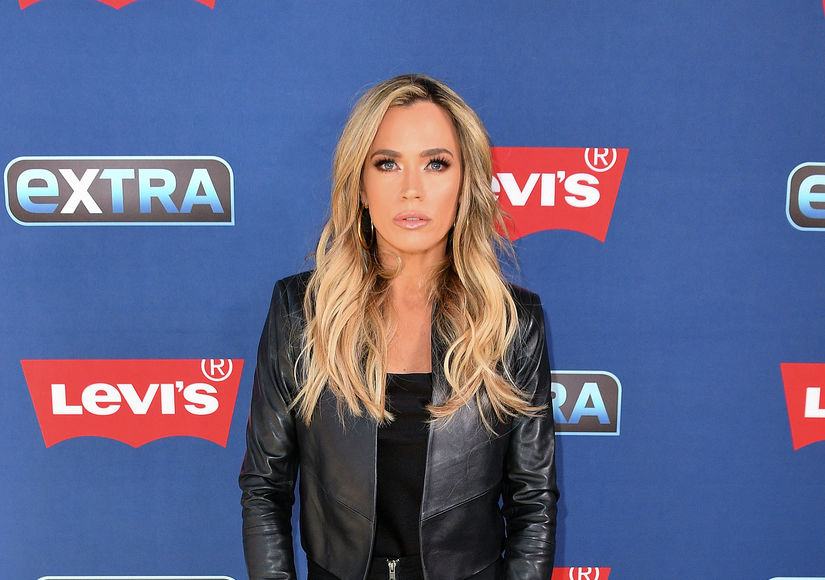 "It was an east coast/west coast ""Real Housewives"" mashup as ""Extra's"" special correspondent and ""Real Housewives of New Jersey"" star Melissa Gorga interviewed ""Real Housewives of Beverly Hills"" star Teddi Mellencamp at the ""Extra"" studio at Levi's Times Square."