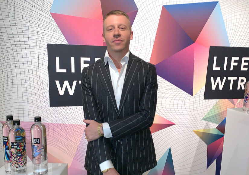 Macklemore Teams with LIFEWTR to Help Bring Art and Creativity to the Everyday