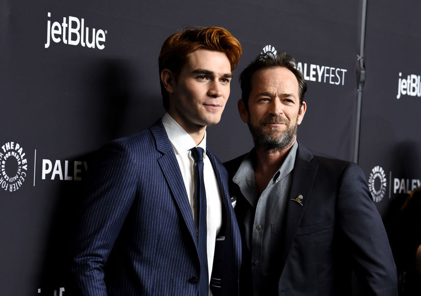'Riverdale' Star KJ Apa Breaks Silence on TV Dad Luke Perry's Death