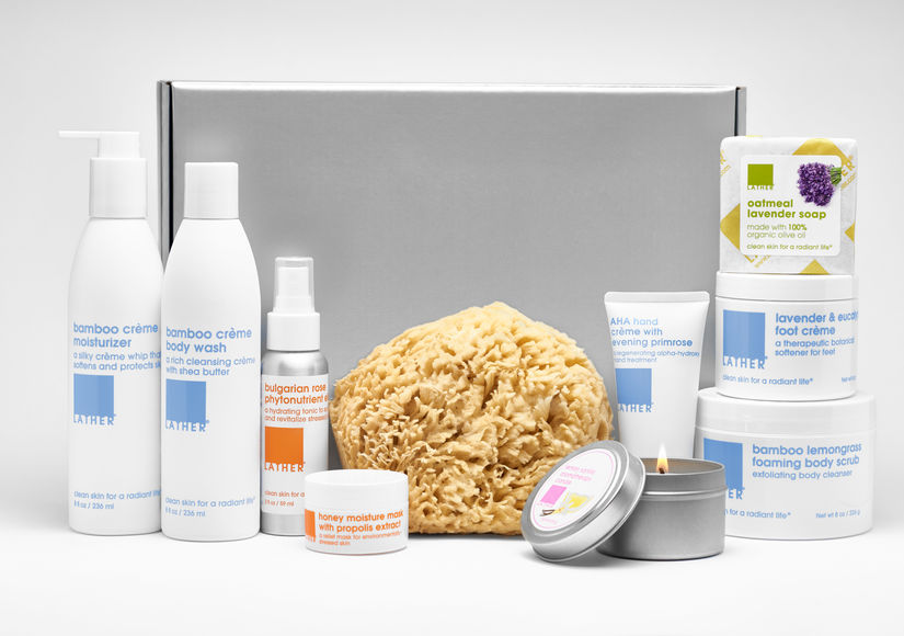 Win It! The Ultimate Spa Gift Set from Lather
