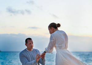 See the Moment Alex Rodriguez Proposed to Jennifer Lopez