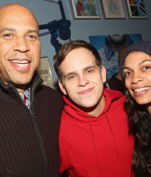 New Couple Alert! Rosario Dawson Confirms She's Dating Cory Booker