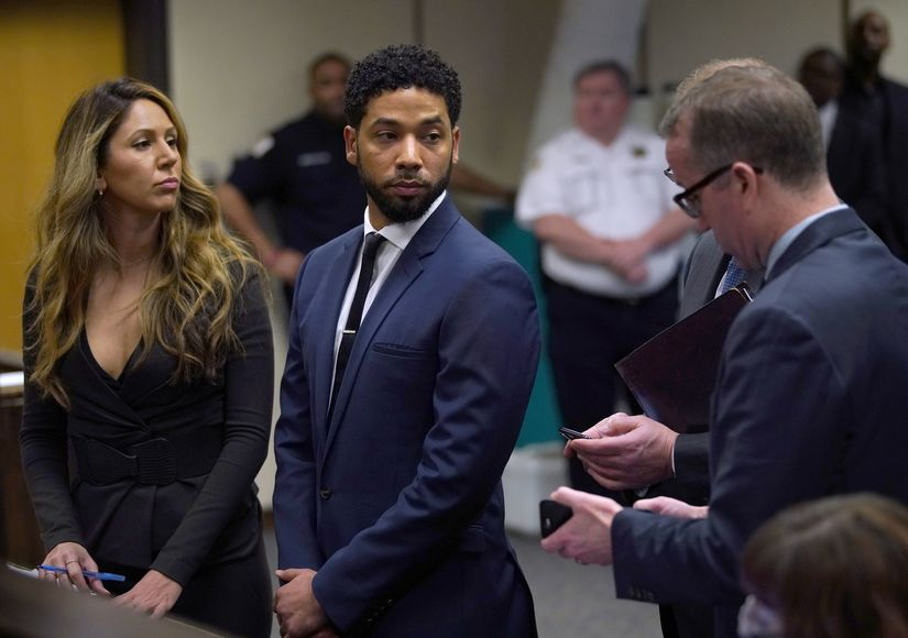 Image result for Jussie Smollett Pleads Not Guilty To All 16 Felony Counts