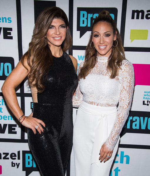 Melissa Gorga Says Teresa Giudice Is 'Being Strong' as Husband Joe Faces…