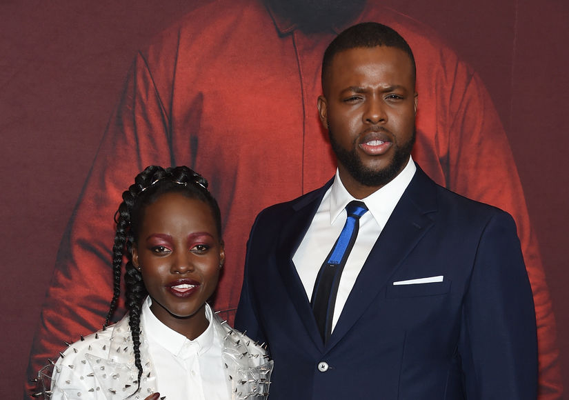 Lupita Nyong'o Talks Intimacy with 'Us' Co-Star Winston Duke