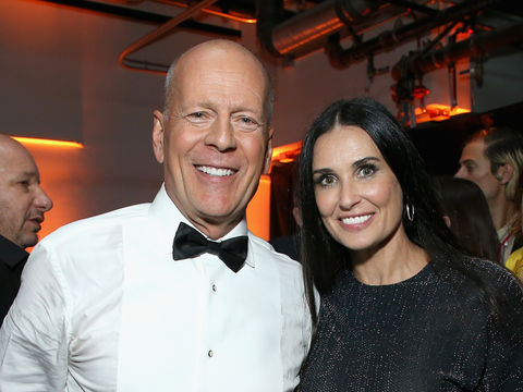 Friendly Exes! Demi Moore Attended Bruce Willis' Vow Renewal with Emma Heming