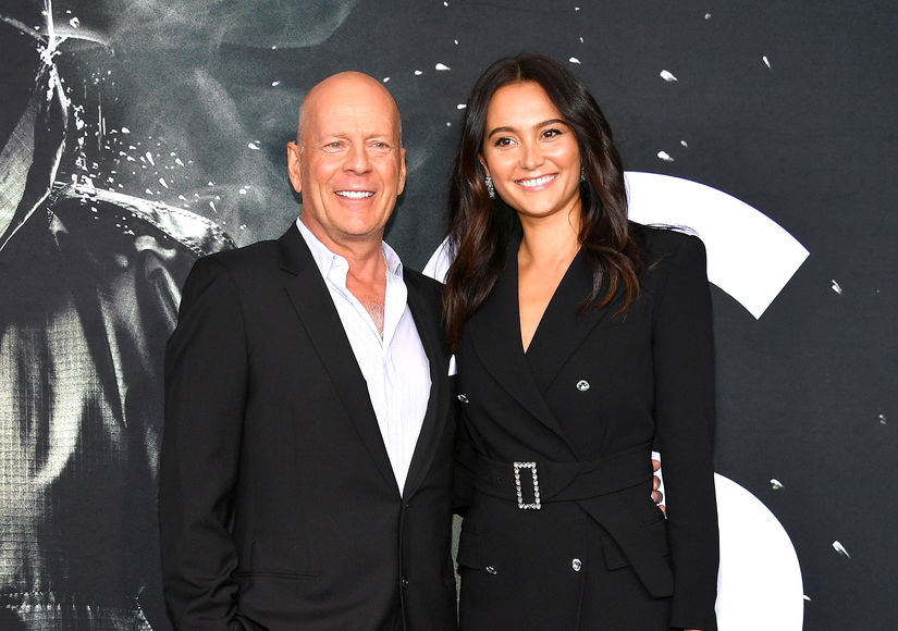 Demi Moore and Bruce Willis are definitely friendly exes!