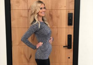 Christina Anstead Shows Off Her Baby Bump for the First Time!