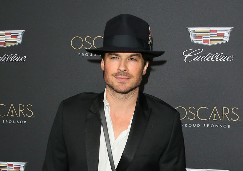See Ian Somerhalder's DIY Haircut After 3 Glasses of Wine!