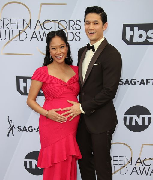First Pic! Harry Shum Jr. & Shelby Rabara Welcome First Child