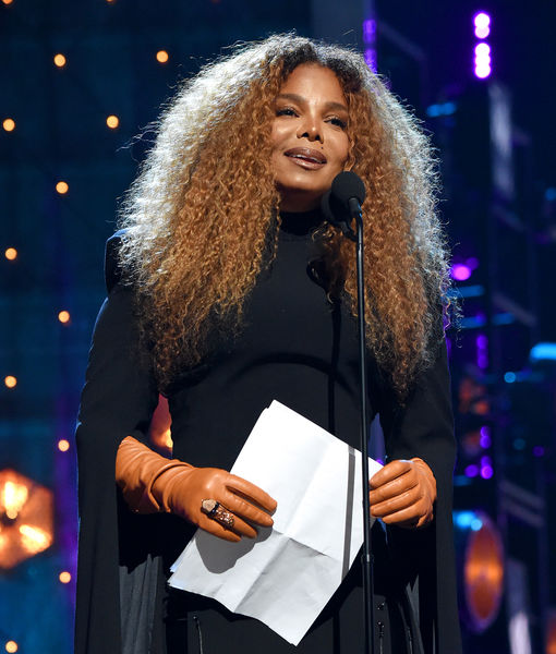 Janet Jackson Thanks Her 2-Year-Old at Rock Hall Induction