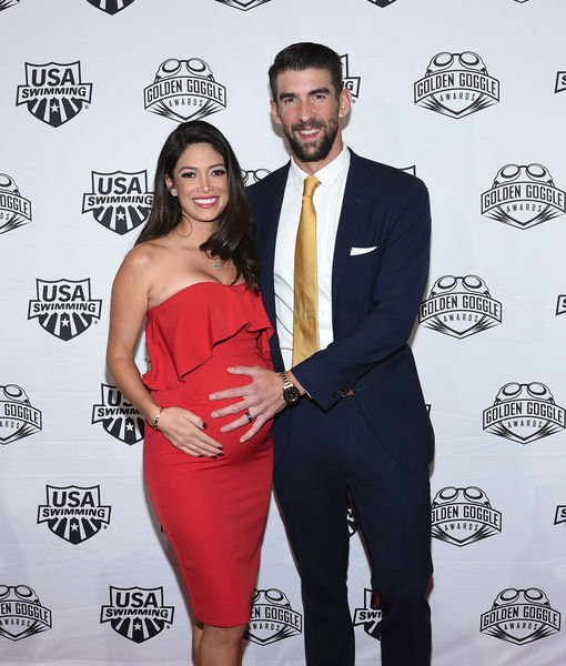 Michael Phelps & Wife Nicole Expecting Baby #3 — See Their Cute…