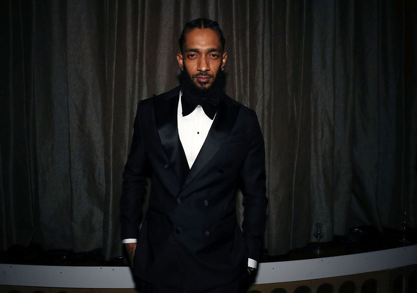 Family & Friends Pay Tribute to Nipsey Hussle at Star-Studded Memorial Service