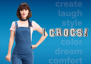 Come As You Are! How Zooey Deschanel Inspires Individuality with Crocs