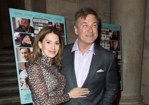 See Alec Baldwin's Wife Hilaria Surprise Him at 'The Public's' Press Day!